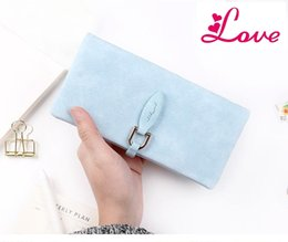 Wholesale Coin Clasps - LUCIA'S Latest Women leather Leaf Long Wallet Female Coin Purse Change Clasp Purse Money Bag Card Holders Womens Wallets And Purses