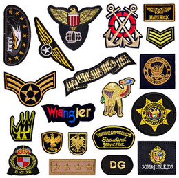 Wholesale Hat Parts - New Embroidered Car Parts Label Sew on Small Patch for Clothing Hat Shoes Bag Decorative DIY Accessories Appliqued