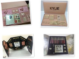 Wholesale Matte Box Kit - Kylie Lip Kit by kylie jenner Velvetine Liquid Matte 12 Days Vault Makeup Holiday Big Box I WANT IT ALL The Birthday Collection Gift