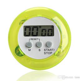Wholesale Timer Digital Clip - novelty digital kitchen timer Kitchen helper Mini Digital LCD Kitchen Count Down Clip Timer Alarm