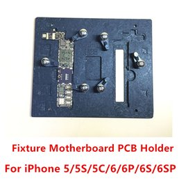 Wholesale Mold For Repairing Iphone - Correct Fixture Motherboard PCB Holder Fixed Mold Main Board Repair For iPhone 5G 5S 5C 6 6P 6S 6S Plus free shipping