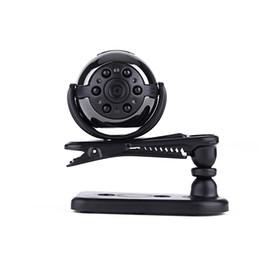 Wholesale Mini Car Lamp - 50pcs 360 degree View SQ9 Mini DV HD 1080P Sport Camera 12MP Car DVR Motion Detecting Video Multifunction Infrared lamp Video Cam