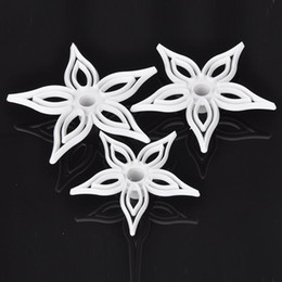 Wholesale Muffin Cutter - 3pcs Set Calyx Foral Fondant Muffin Cake Cookie Decoration Cutter Sugercarft Mold Tools Kitchen Accessories X60*JJ0292W#M2