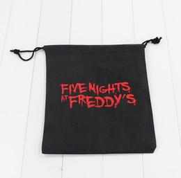 2018 qualité vidéo FNAF sacs cinq nuits chez freddy toys bag Sac de rangement cinq nuits chez freddy bag High Quality Free Shipping EMS qualité vidéo pas cher
