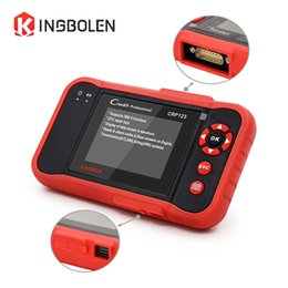 Wholesale launch crp - LAUNCH CRP123 Code Reader 4 Systems(ENG\ABS\SRS\AT) EOBD OBDII Diagnostic Tool Life Long Update Creader X431 CRP 123 Scanner