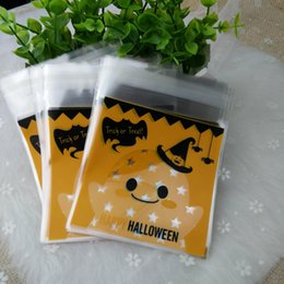 Wholesale Halloween Soap - DHL&SF_Express 100pcs lot Halloween packing bags 7 wire for soaps packing square 10*10*3 cm factory price (2)