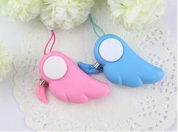 Angel Electronic Protection alarm anti lupo maschile Sensori e allarmi Sicurezza personale Scream Loud Keychain Alarm da portachiavi del sensore fornitori
