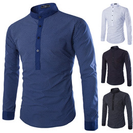 Wholesale Dress Shirt White French - Wholesale-New Men Casual Pullover shirt Tops Silm fit Fashion Polo dress designer plaid shirts Turn-down Collar french cuff Street Wear