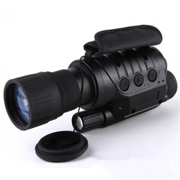 Wholesale X Vision Camera - Professional 6x50 Infrared Night Vision Digital Video Goggle no thermal Telescope Camera NV760D+ TDN IR 6x Zoom HD Hunting Monocular