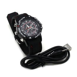 Wholesale Spy Photo Camera - 32GB 16GB 8GB Sport Style Spy Watch Hidden Camera Wrist Watch with Hidden Camera photo Video taking 720*480