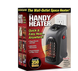 Wholesale Wall Electric Heaters - Mini Electric Home Handy Heater Stove Hand Warmer Plug-In 350W Wall Heater Hotel Kitchen Bar Bathroom Car Travelling Christmas Gifts