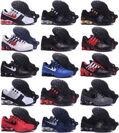 Wholesale Mint Drop - 38 Color New arrival Drop Shipping Famous Shox NZ Shox Avenue Mens Athletic Sneakers Sports Running Shoes Size 7-12