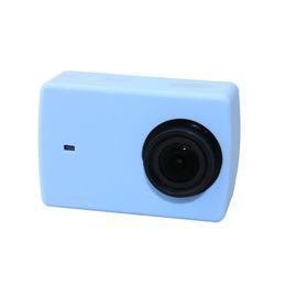 Silikon-kamera online-Silikon Case Protector für Xiaoyi Sport Kamera Kleine Ant Action Kamera Silikon Schutz für Xiaoyi Kleine Ant Kamera 5 Farben