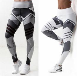 Wholesale Print Leggins Xl - Women Leggings High Elastic Leggings Printing Women Fitness Legging Push Up Pants Clothing Sporting Leggins Jegging
