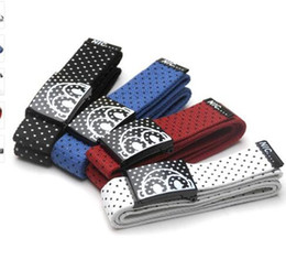 Wholesale wholesale designer mens belts - Belts For Men Fashion Dotted Mens Canvas Belts Candy Color Metal Buckle Men Designer Belts Polka Dot canvas belt KKA3238