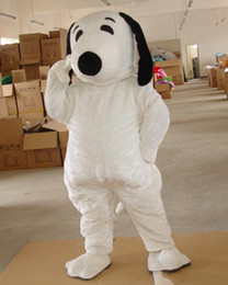 Wholesale Snoopy Mascot Costumes Halloween - EPE Adult Size Snoopy Dog Mascot Costume Halloween Chirastmas Party Fancy Dress
