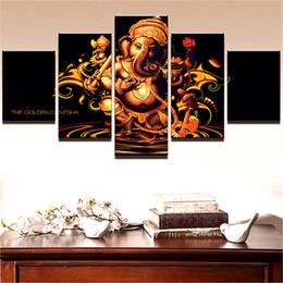 Canada Inde bouddhisme tibétain, 5 pièces Home Decor HD imprimé Art moderne peinture sur toile / sans cadre / encadré Offre