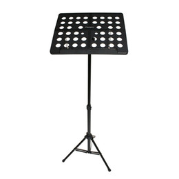 Wholesale Aluminum Carrying Case Free Shipping - Wholesale- Colourful Sheet Folding Music Stand Aluminum AlloyTripod Stand Holder With Soft Case with Carrying Bag Free Shipping Wholesales