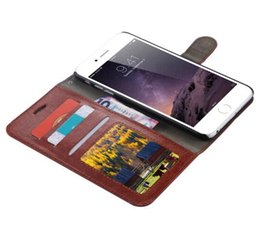 Wholesale Galaxy Wallet Retro - New Case For iPhone 7 6S Plus Vintage Retro Flip Stand Wallet Leather Case Phone Back Cover For Samsung Galaxy S8 plus S6 S7 Edge Note 3 4 5