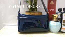 Wholesale Women Bags Glossy - Free shipping 2017 European and American fashion patent leather glossy girls dedicated shoulder mini bag 088 #