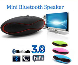 Wholesale Wireless Laptop Computer Speakers - HIFI Bluetooth Speaker X6 X6U MINI Football Wireless Portable Audio Player Music Speaker Altavoz Bluetooth For Phone PC Laptop Tablet