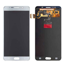Wholesale Note Full Lcd - Original Samsung Note 5 N9200 N920A N920T N920V N920P Lcd Display Touch Screen Digitizer Replacement Repair Parts With Full Assembly Free