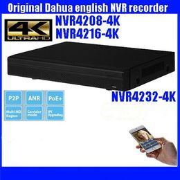Wholesale Udp Dns - DHAUA Video Recorder 8 16 32CH 1U 4K Network Video Recorder Latest Model Onvif 2.4 Support 2HDD NVR4208-4K NVR4216-4K NVR4232-4K