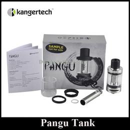Bobina de vidro destacável on-line-Original Kanger Pangu Tanque 4.5 ml Top Recarga Sub Ohm Atomizador Bobina Destacável sem Vidro de Abertura DHL Livre
