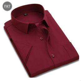 Wholesale Asian Dress Xl - Wholesale-[Asian size] Summer Style Men Striped Solid Dress Shirt short Sleeve Business Casual Regular-Fit Men Shirts social masculina 5XL
