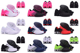 Wholesale Sale Sports Womens - 2016 New arrival Hot Sale Drop Shipping Famous Shox Deliver Mens Womens Athletic Sneakers Sports Running Shoes Size 5.5-12