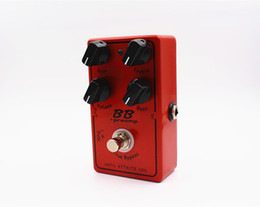 Wholesale Electric Boost - Clone Xotic BB Preamp Guitar effect pedal preamp overdrive boost