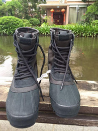 Wholesale Knee High Boots Sale Cheap - Quality goods 2016 new Hot Sale Kanye West shoes 950 boost discount cheap 950 boots men shoes unisex High shoes duckBoot free shipping