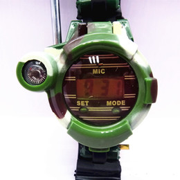 Wholesale Camouflage Toys - IN stock camouflage military field seven in one child child children talkie toy watch a pair of wholesale