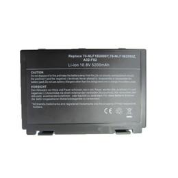 Wholesale A32 F82 - Wholesale-5200MAH 6cells new Laptop Battery For Asus K50AB K70 A32-F52 F82 K50I K60IJ K61IC K50C K50ID k50IE K50IL K50IP K50X K51A K51AB