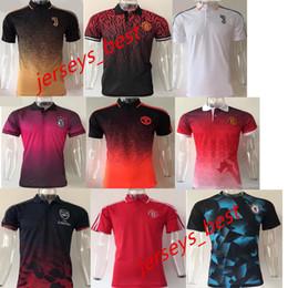 Wholesale Football Polo Shirts - Top quality 2017 2018 HIGUAIN football jersey 17 18 DYBALA POGBA HAZARD ALEXIS football polo shirt