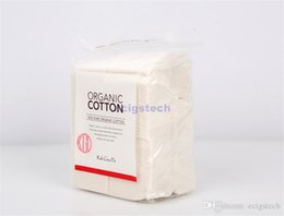 Wholesale Cotton For Medical - japan muji organic cotton Koh Gen Do medical absorbent coton ball Unbleached Cotton Vape Wick for DIY Ecig RDAs RBAs Wicking DHL free