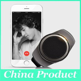 Wholesale Watch Music Box - Portable B20 Mini Wireless Bluetooth Speaker Stereo Super Bass Smart Watch Speaker For Music Player With TF Card