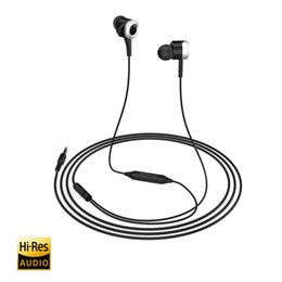 Wholesale Cell Headphone Plug - dodocool Hi-Res In-Ear Headphone Cell Phone Earphones with Remote and Microphone 3.5mm Audio Plug DA90