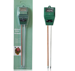 Wholesale Moisture Tester For Soil - High Quality 3 in 1 Soil Water Moisture humidity Light PH Tester for Garden Plant Flower Test Meter with 2 Probes