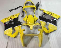 Wholesale Yellow Zx6r Fairing - 3 Free Gifts New Injection Mold ABS Fairing Kits for Kawasaki Ninja ZX6R 6R 636 2000 2001 2002 nice yellow