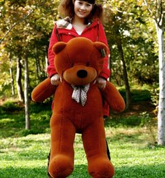 Wholesale Toy Bear Plush Large - 1m High quality Low price Plush toys large size100cm   teddy bear 1m big embrace bear doll  lovers A111-2