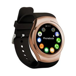 Deutschland Neueste Edelstahl Bluetooth Smart Uhr K8 MTK 2502 Pulsmesser IPS 1.3 Armbanduhr HD Remote Kamera Für IOS Android cheap newest smart watch camera Versorgung