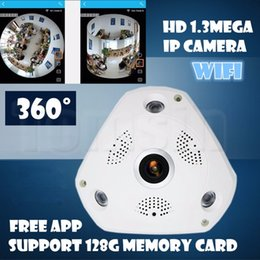 Wholesale Fisheye Security Camera - 360 Panoramic Camera 960P VR IP Cam WiFi Fisheye 1.3MP 3D IP Cam Security Night Vision CCTV Surveillance