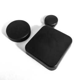 Wholesale Hard Lens Cases - 2.4cm Black for Gopro Accessories Protective Camera Lens Cap Cover Compatible + Housing Case Cover for Gopro HD Hero 4 3+0.8