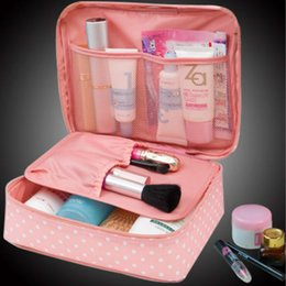 Wholesale Trunk Organizers - Neceser Zipper new Man Women Makeup bag Cosmetic bag beauty Case Make Up Organizer Toiletry bag kits Storage Travel Wash pouch