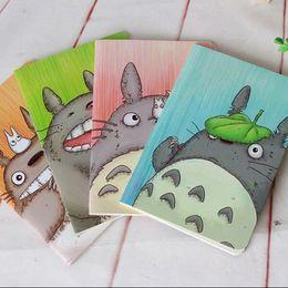 Wholesale kawaii notepads - Wholesale- 1pcs lot 208*142mm New Kawaii Cartoon Totoro series 22k notebook Diary nice gift office school supplies