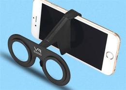 Wholesale Virtual Lighting - CASE VR mobile phone shell glasses 3D glasses virtual reality glasses VR glasses light portable shell
