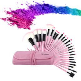 NOUVEAU 24 Pcs Maquillage Brosses Ensemble De Beauté Beauté Élégant Cosmétiques Sourcils Ombre Poudre Pincel Maquiagem Outils + Pochette Sac ? partir de fabricateur