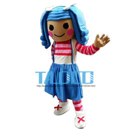 Wholesale Cartoon Girl Mascot Costumes - Best lalaloopsy girl Mascot Costume Cartoon Fancy Dress Free Shipping Adult Size