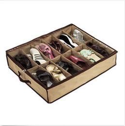 Wholesale Case Closet - Closet shoes Organizer Under Bed Storage Holder Box Container Case Storer For 12 Shoes